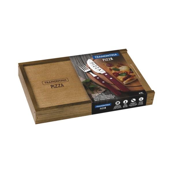 Pizzabesteck-Set, 4-tlg. PIZZA FSC