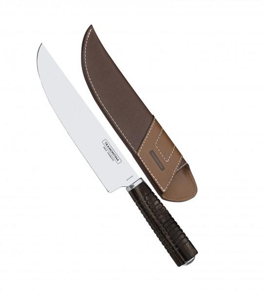 Campeira-Fleischmesser mit Leder-Etui