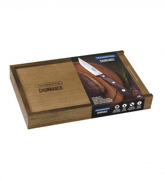 Steakmesser-Set, 4-tlg. (Full Tang) BUENO FSC