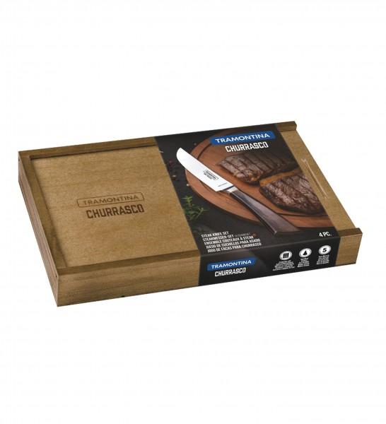 Steakmesser-Set, 4-tlg. (geschmiedet) PAMPAS FSC